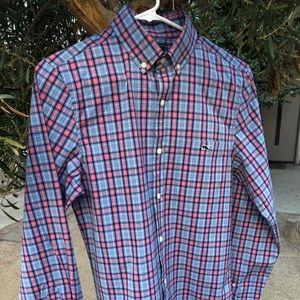 VTG Vineyard Vines Slim Fit Tucker Shirt, Size XS
